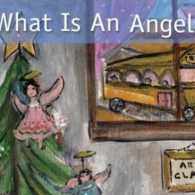 The cover of What Is an Angel? by Adrienne Falzon