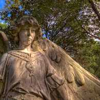 Avenging Angel, Glenwood Cemetery, Houston, Texas
