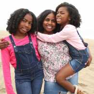 Phnesha Marchette and her daughters, Gabby and Gigi