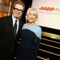 Helen Mirren and Gary Oldman at the Movies For Grownups Awards