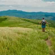 a woman hiking the Appalachian Trail, Getty Images