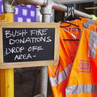 Australia bushfire donations area