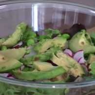 Guideposts: Mixed Green Salad with Cilantro-Lime Vinaigrette