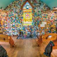 The Dog Chapel, a sanctum of loving memories.