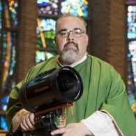 Father James Kurzynski, priest and hobby astronomer