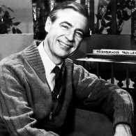 Fred Rogers in the role of Mr. Rogers
