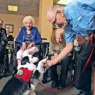 How One Dog Changed Life at a Senior Center