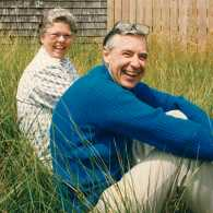 Joanne and Fred Rogers in 1992