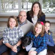 Guideposts CEO John Temple and his family