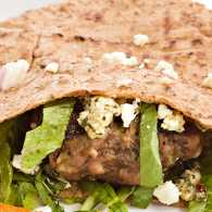Lamb and Feta Mini-Pitas
