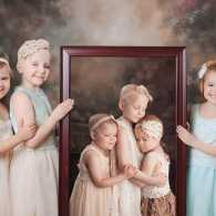 Three little girls battling cancer