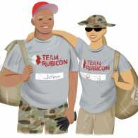 Two volunteer veterans teaming up to help those in need due to natural disasters.