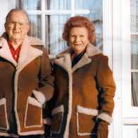 Guideposts founder Norman Vincent Peale and his wife, Ruth Stafford Peale