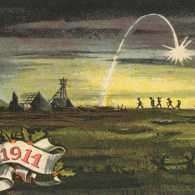 A World War I-era Christmas card