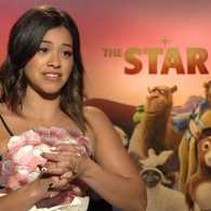 Actress Gina Rodriguez, who plays Mary in the new animated film 'The Star'