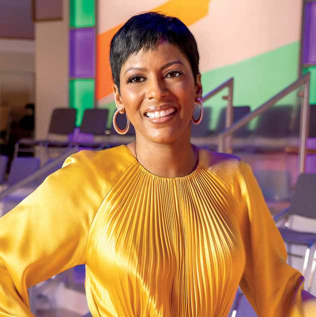 Before every show, I ask God to make sure my words have meaning and that people feel included, Tamron Hall says.