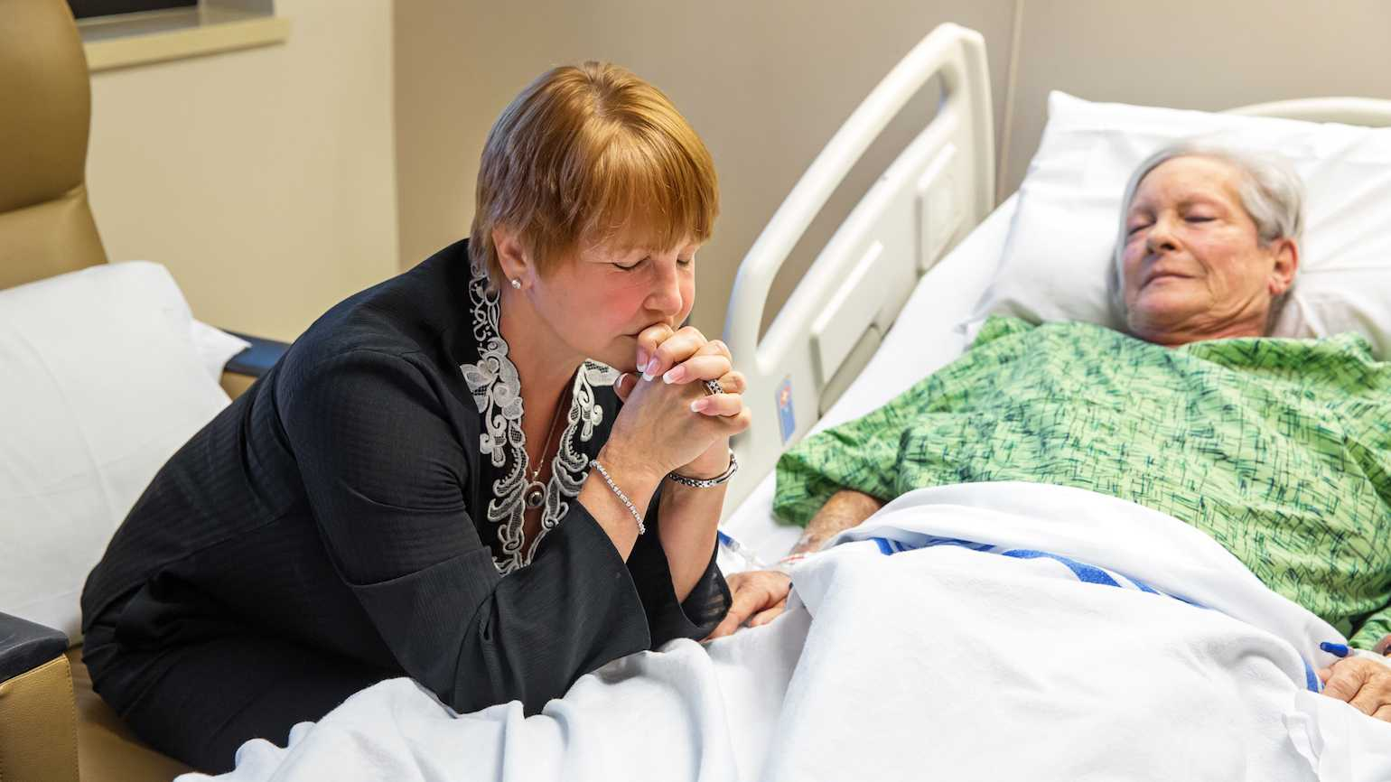 Praying for the sick