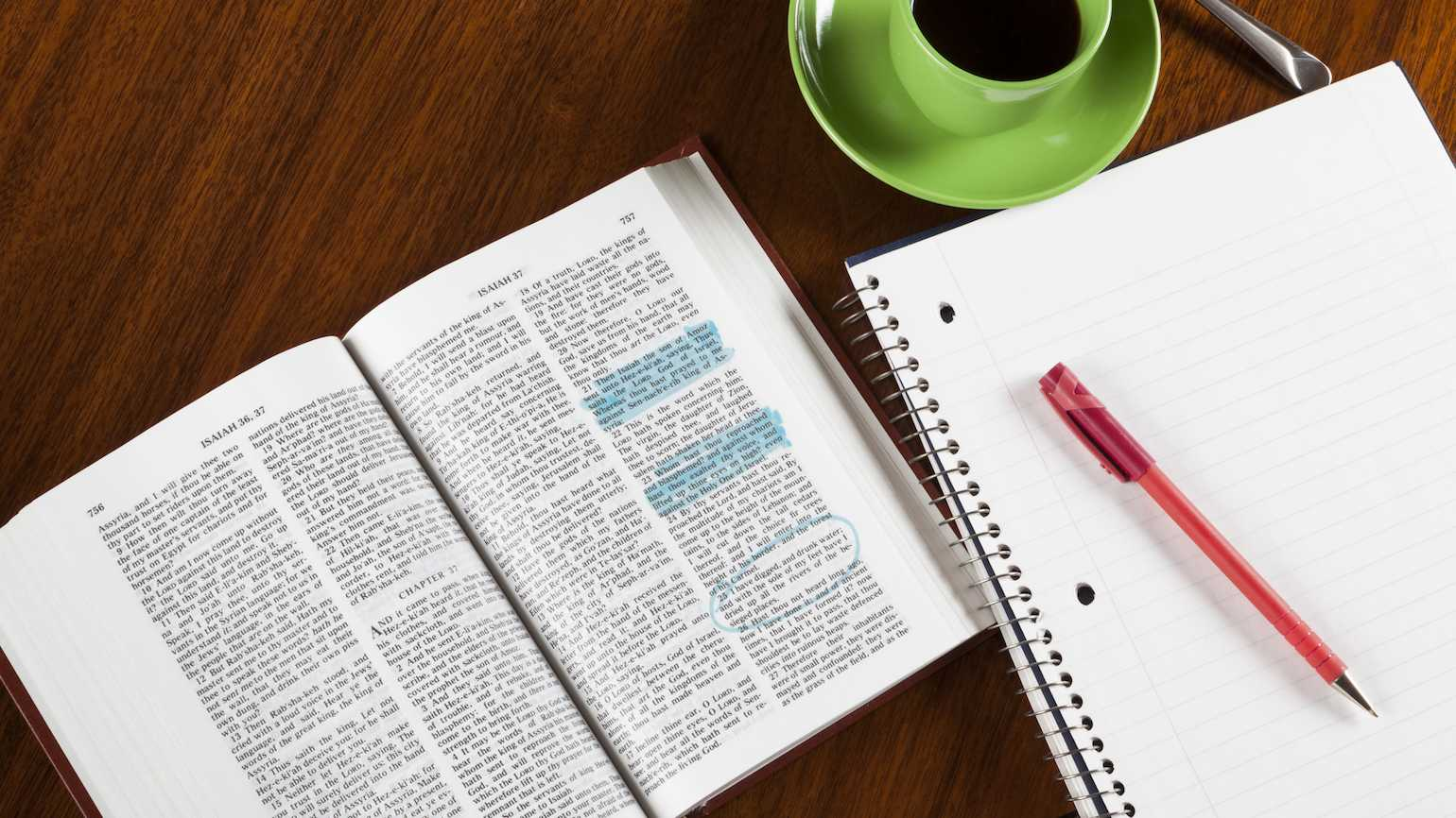 Why you should write in your Bible