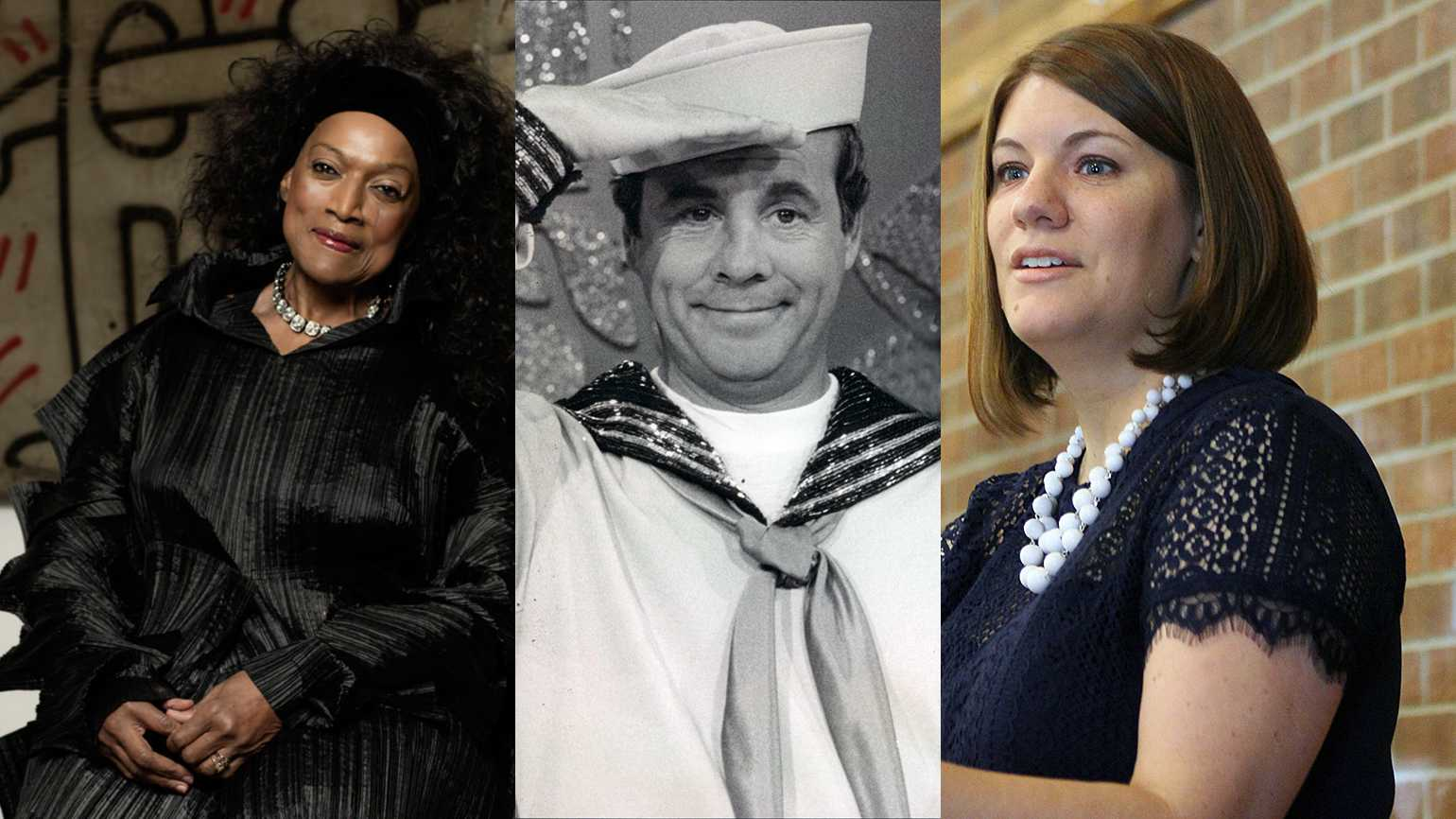 Jessye Norman, Tim Conway and Rachel Held Evans