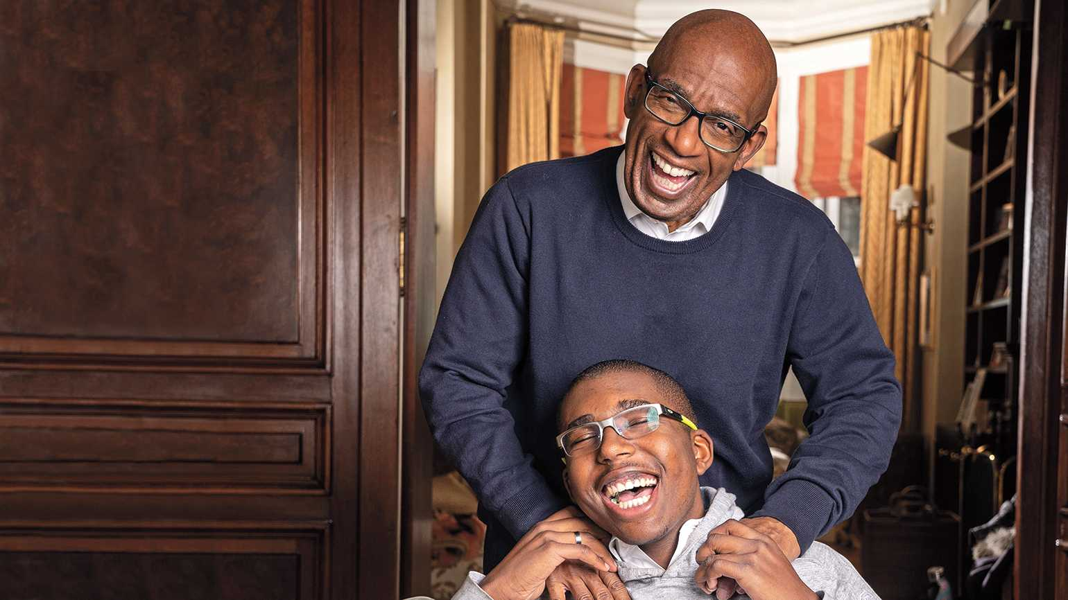 The Today Show's Al Roker with his son, Nick