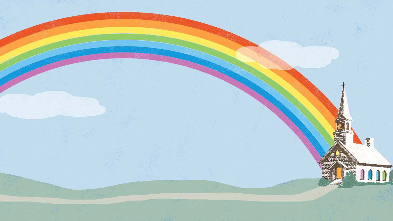 The Rainbow That Led Them to a Better Life
