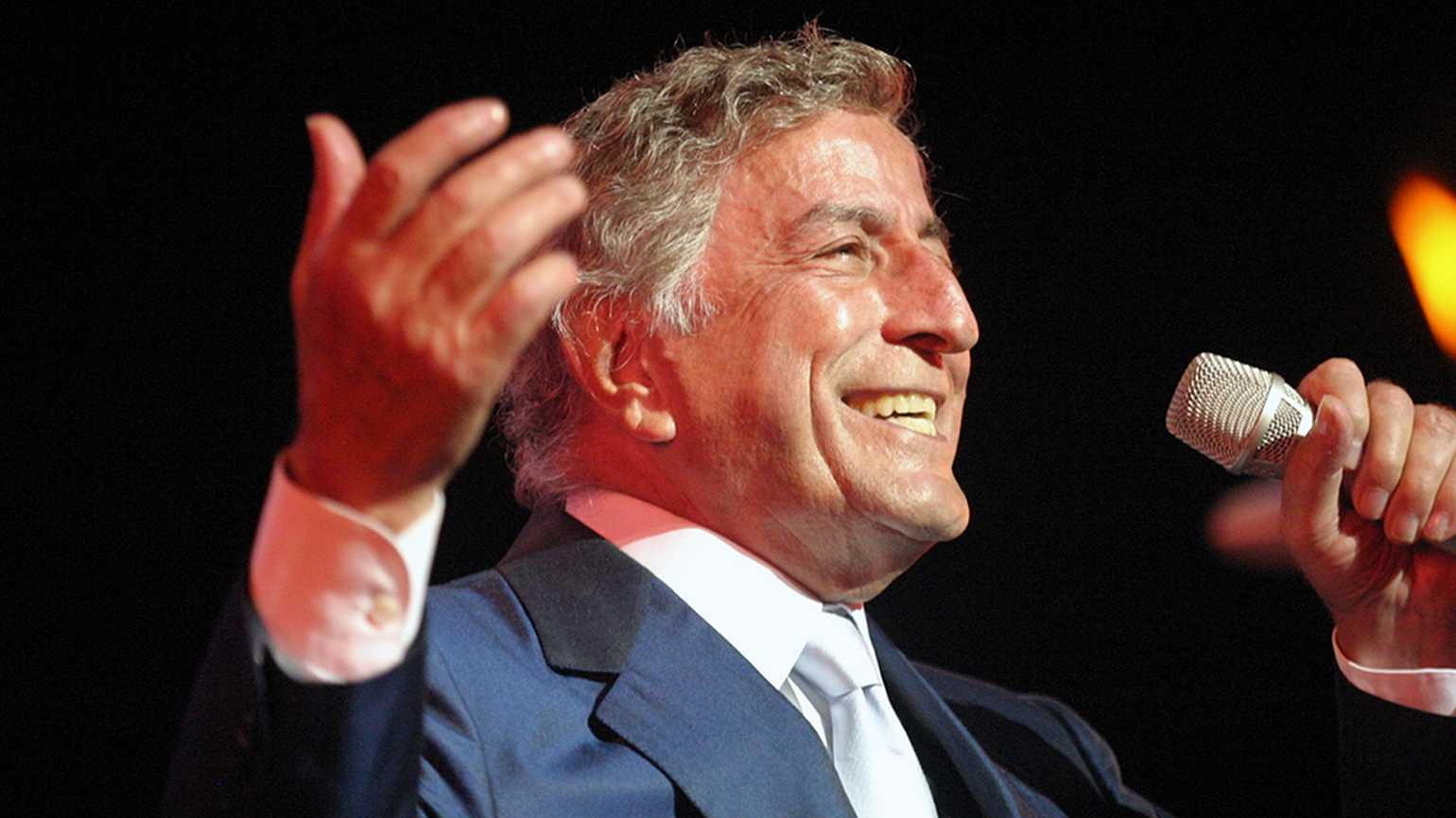 Singer Tony Bennett; photograph courtesy Tom Beetz via Creative Commons