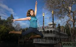 Liz Hetzel is a dancer at Disneyland, in Anaheim, California.