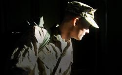 The photo Edie took of Jimmy the day he left for Iraq, in 2007