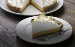 An answered prayer: A slice of lemon meringue pie