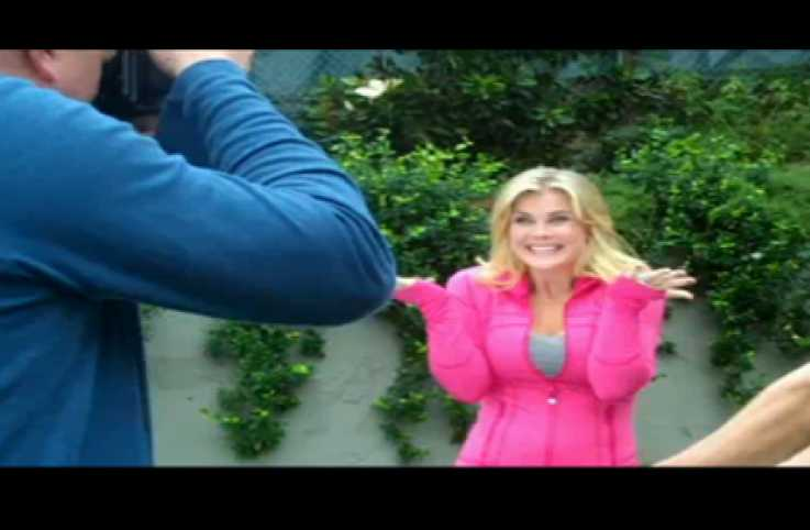 Alison Sweeney at her Guideposts photo shoot