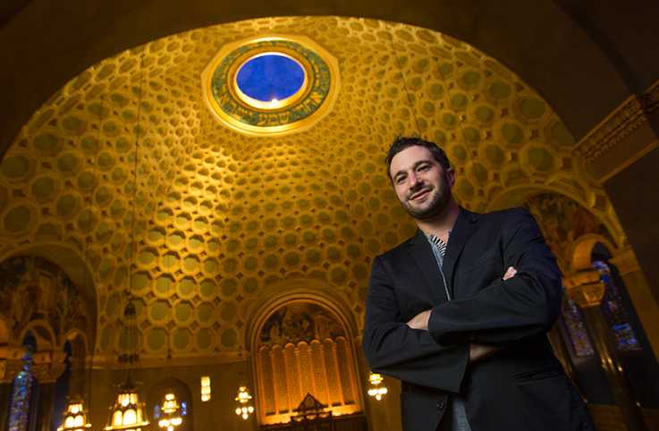 Actor and documentary film maker Aaron Wolf takes us on a tour of the Wilshire Blvd Temple