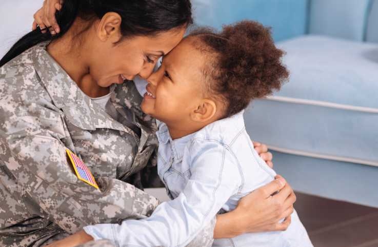 How military families can fight stress during holidays