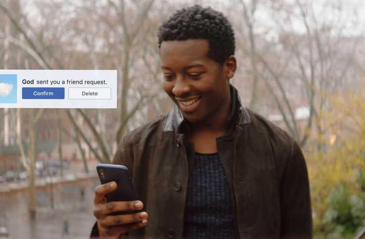 Actor Brandon Micheal Hall in a scene from God Friended Me
