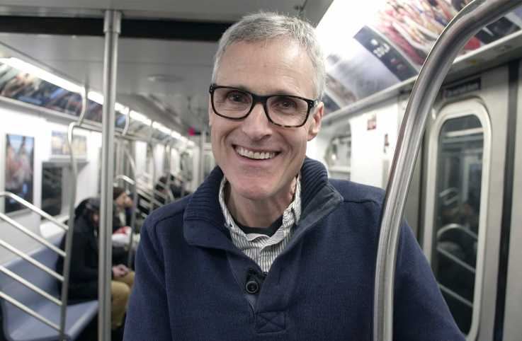 Rick Hamlin on the A train