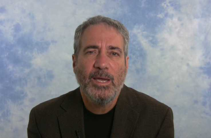 Author and teacher Rodger Kamenetz