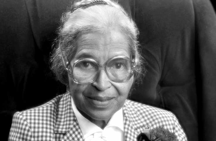 Civil rights icon Rosa Parks