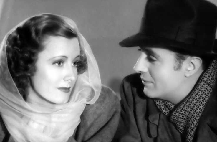 Irene Dunne and Charles Boyer in a scene from 'Love Affair'