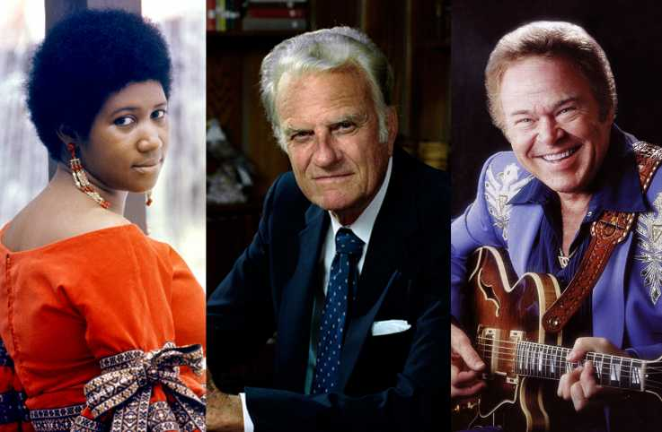 Aretha Franklin, Billy Graham and Roy Clark were among the inspiring figures we lost in 2018.