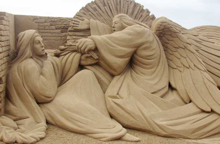Sand Sculpture by: Fergus Mulvany, Ireland.