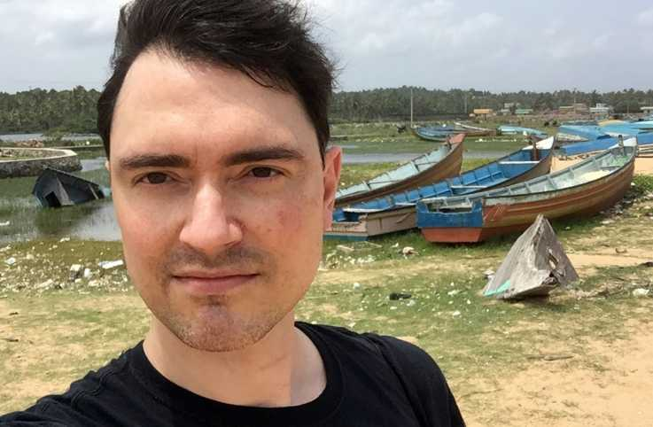 A scenic beach photo of Doug in Trivandrum, India.