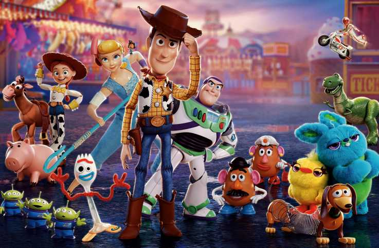 Woody and the rest of his Toy Story 4 pals