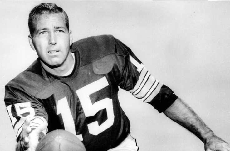 Pro Football Hall of Fame quarterback Bart Starr