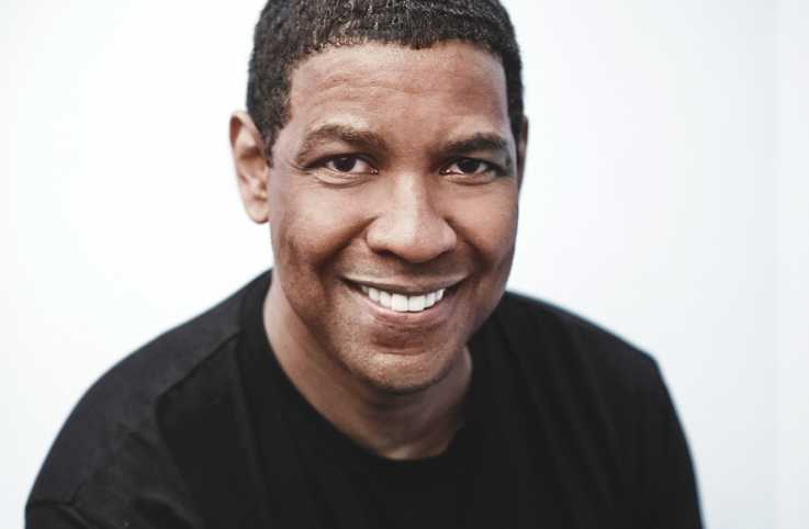 A portrait of Denzel Washington.