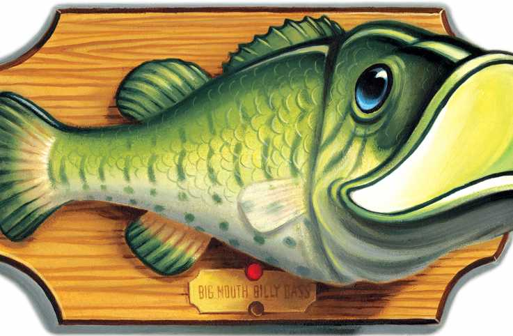 Billy Bass/ Illustration by Chris Buselli