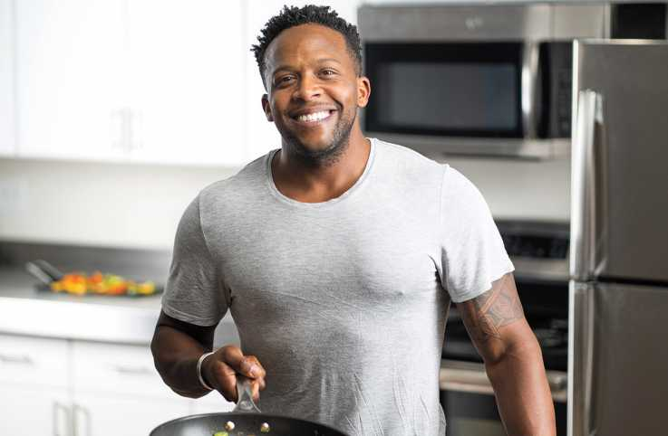 Fitness guru and healthy cook Kevin Curry