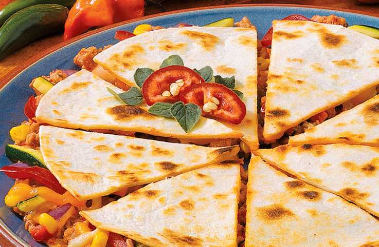 Guideposts: Turkey Quesadillas