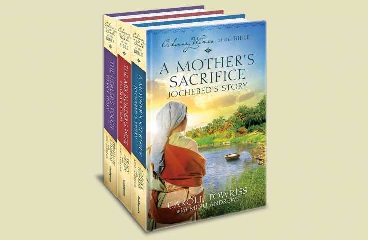 Books from Guideposts' Ordinary Women of the Bible fiction series