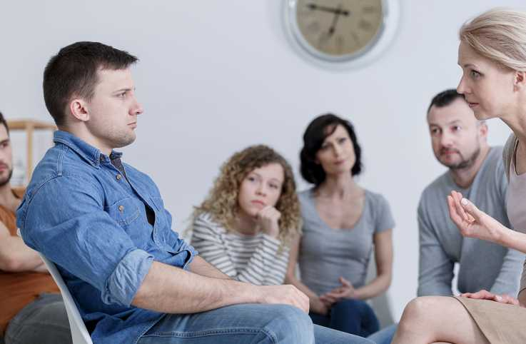 A sobriety support group