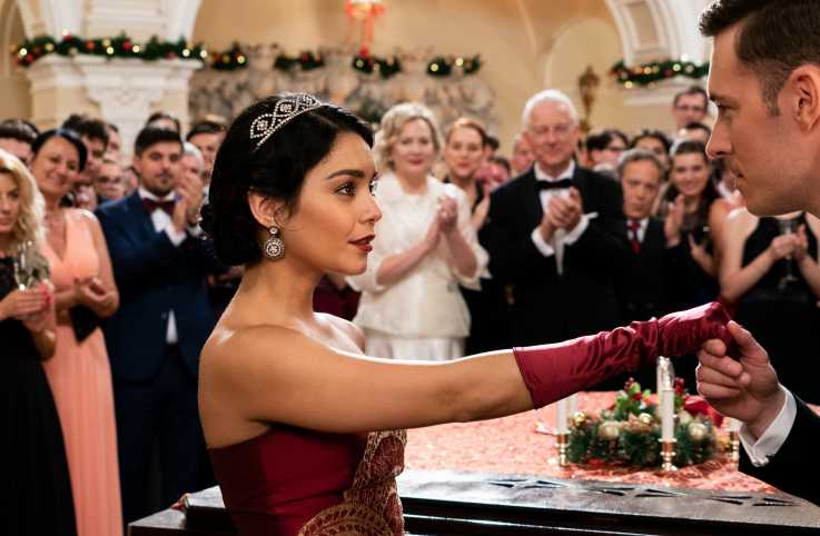 Vanessa Hudgens in 'The Princess Switch'