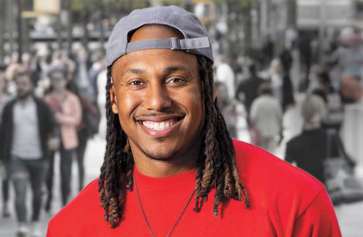 Author and motivational speaker Trent Shelton